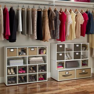 Shoe Station Cubes Organizer Closet Storage
