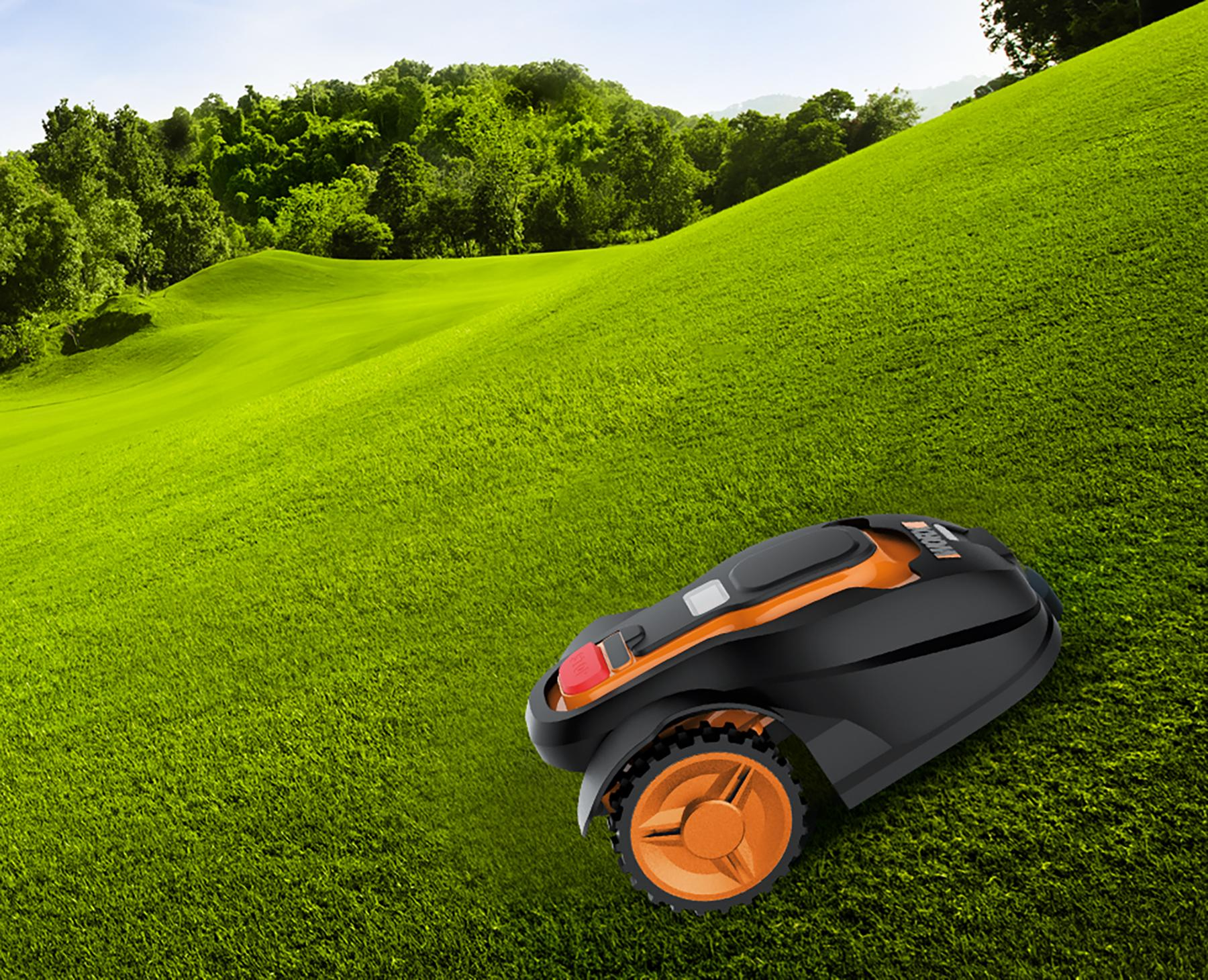 Amazon Com Worx Landroid Robotic Lawn Mower 28 Volt