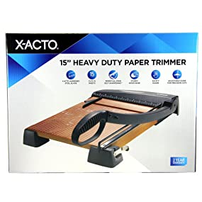 X-ACTO Heavy Duty Wood Guillotine Trimmer