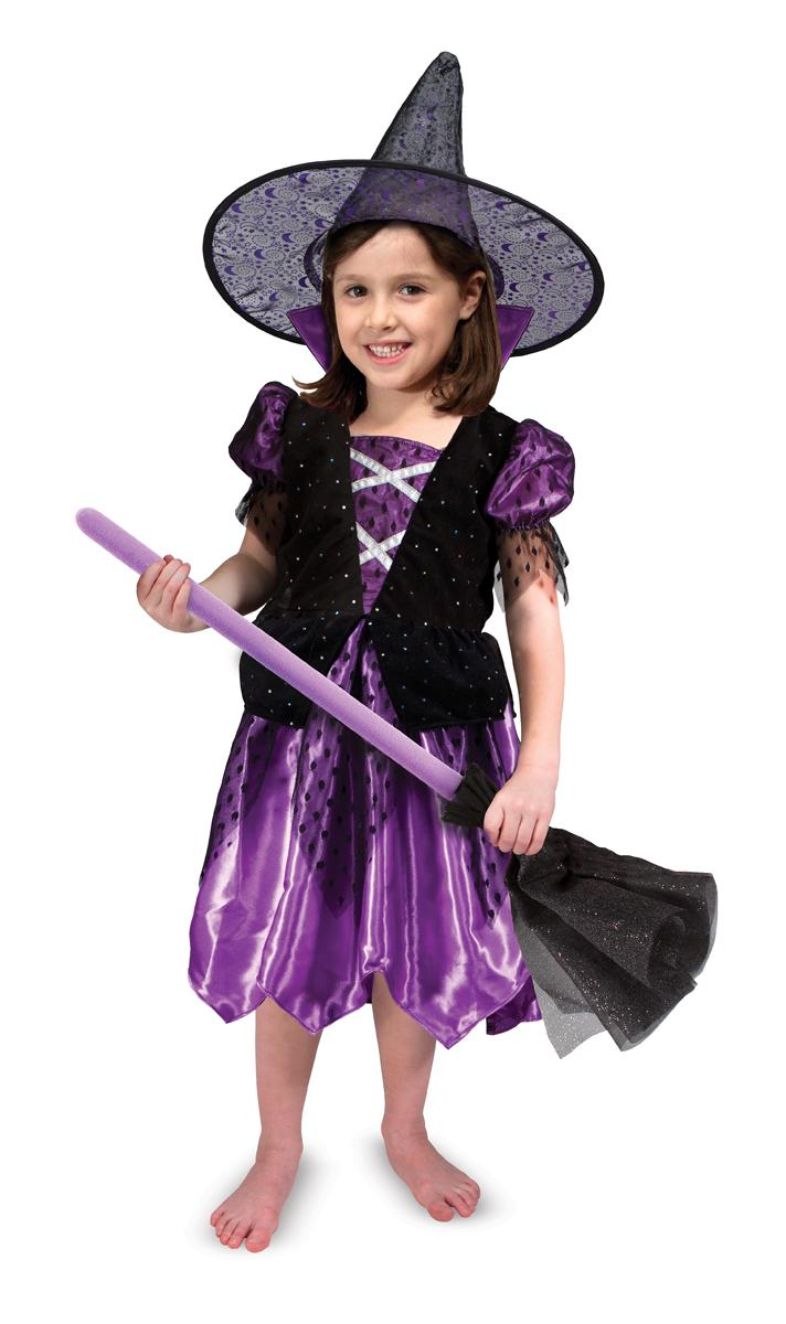 Amazon.com: Melissa & Doug Witch Role Play Costume Set: Melissa ...