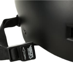 no pinch helmet chin strap buckle
