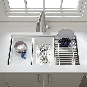 view larger - Kohler Kitchen Sinks