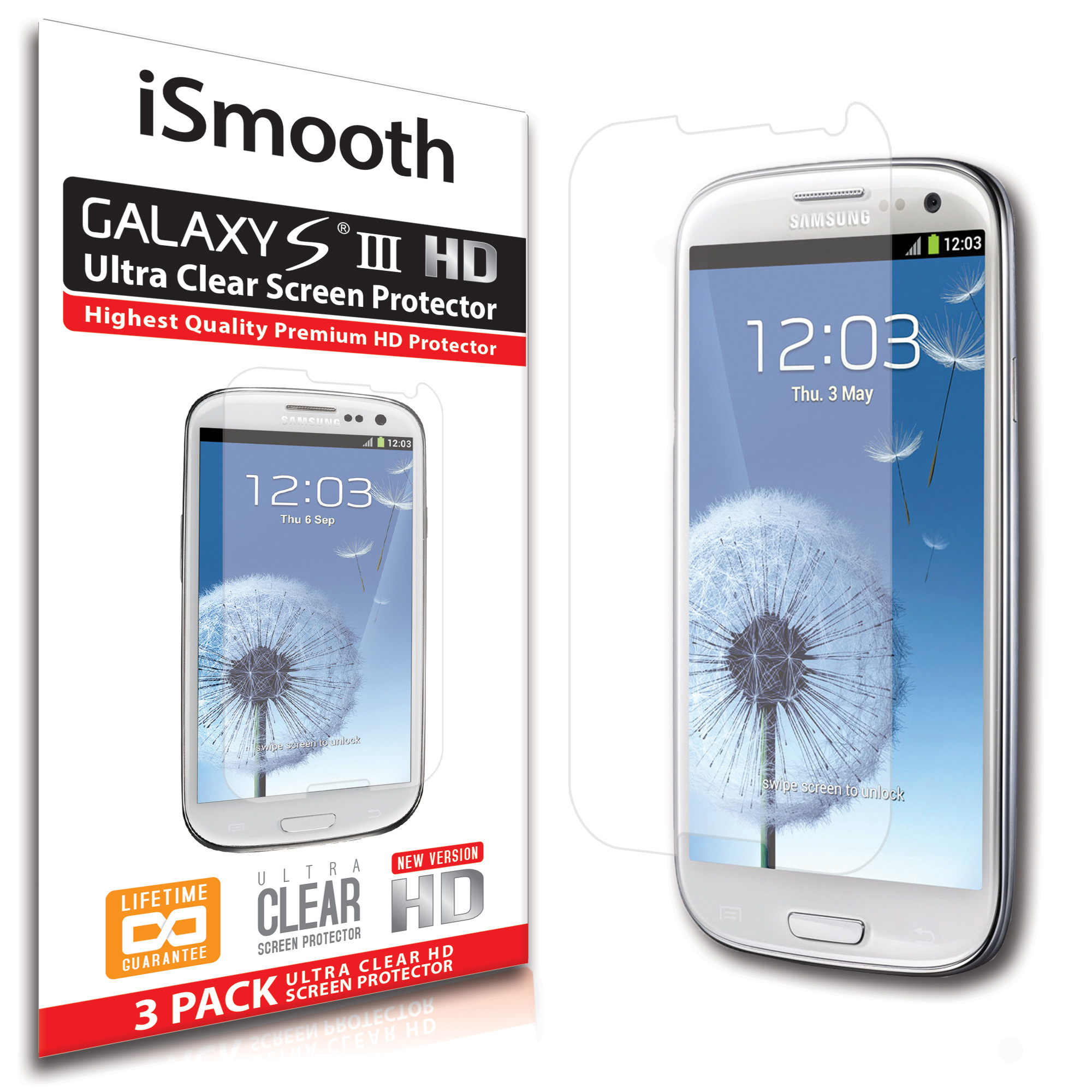 Lcd screen protector guard for samsung galaxy s3 i9300 galaxy s iii -  Galaxy S3 Screen Protector S3 Screen Protector View Larger