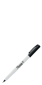 Sharpie Water-Based Paint Marker - Fine Point - White - SHARPIE 35583 ...