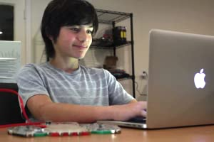 Kid coding/programming with LightUp
