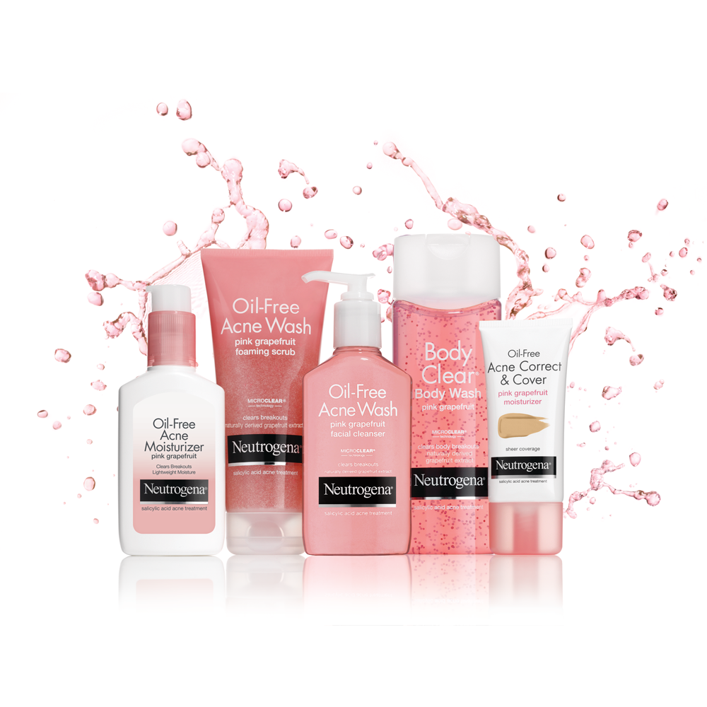 amazoncom neutrogena oilfree acne moisturizer pink