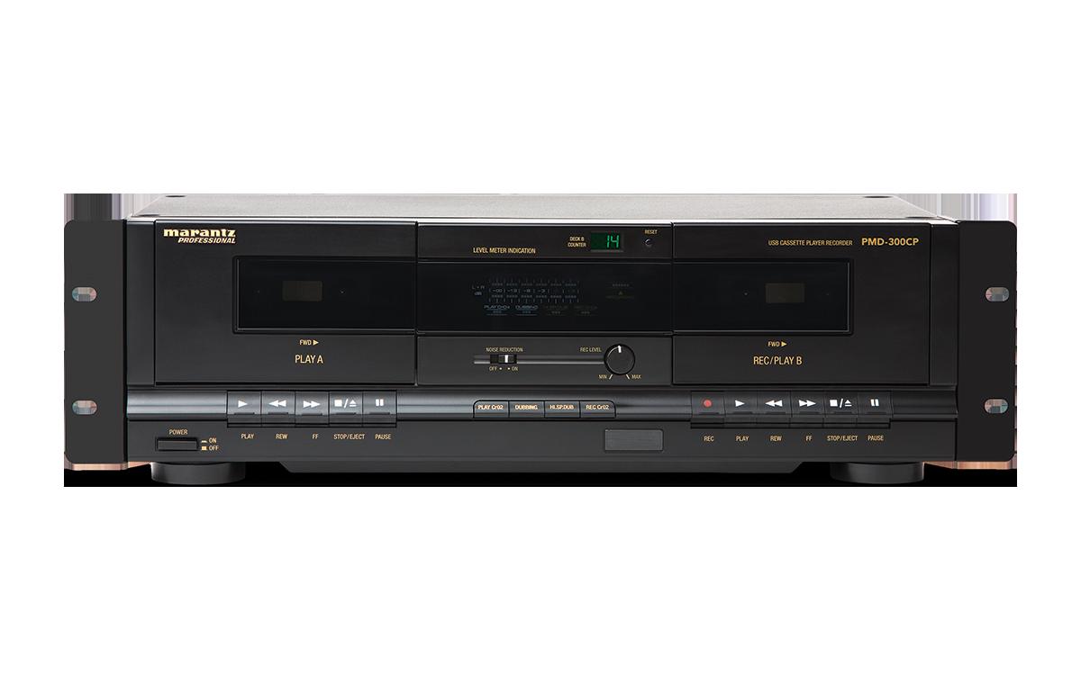 Marantz Professional Pmd 300cp Dual Cassette