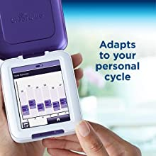 Clearblue,Fertility monitor,Touch screen fertility monitor,Identify fertile days