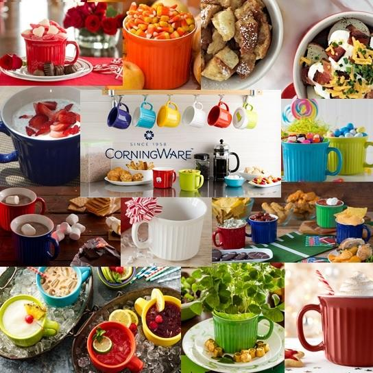 Amazon.com   Corningware 20-Ounce Oven Safe Meal Mug with Vented Lid ...