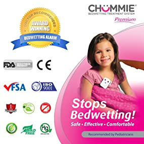 Chummie, Bedwetting Alarm, bed wetting, bed-wetting, enuresis, malem, wetstop, dryeasy, drybuddy