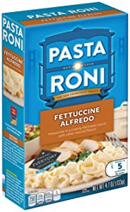 Pasta Roni Fettccine Alfredo