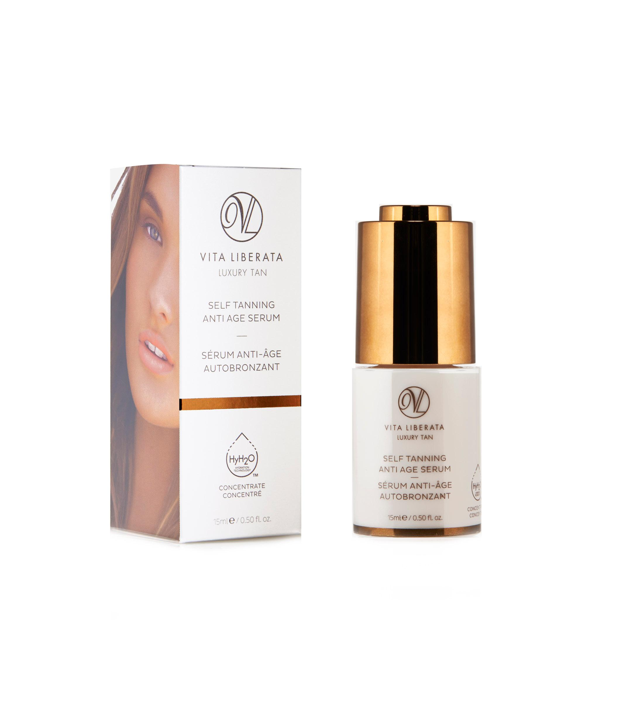 vita liberata self tanning anti age serum fl oz luxury beauty. Black Bedroom Furniture Sets. Home Design Ideas