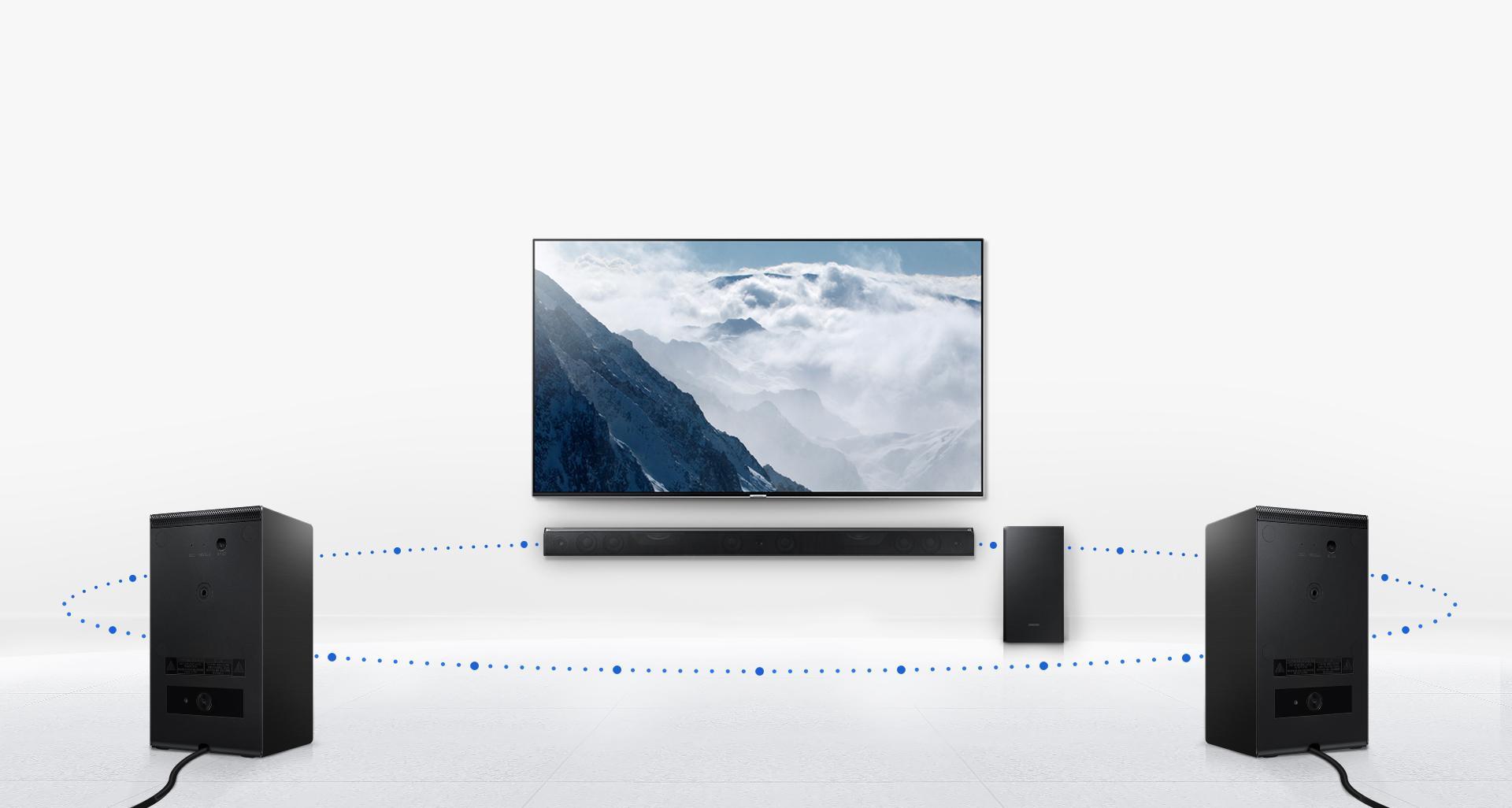 Amazon.com: Samsung HW-K950/ZA 5.1.4 Channel Soundbar with Dolby Atmos
