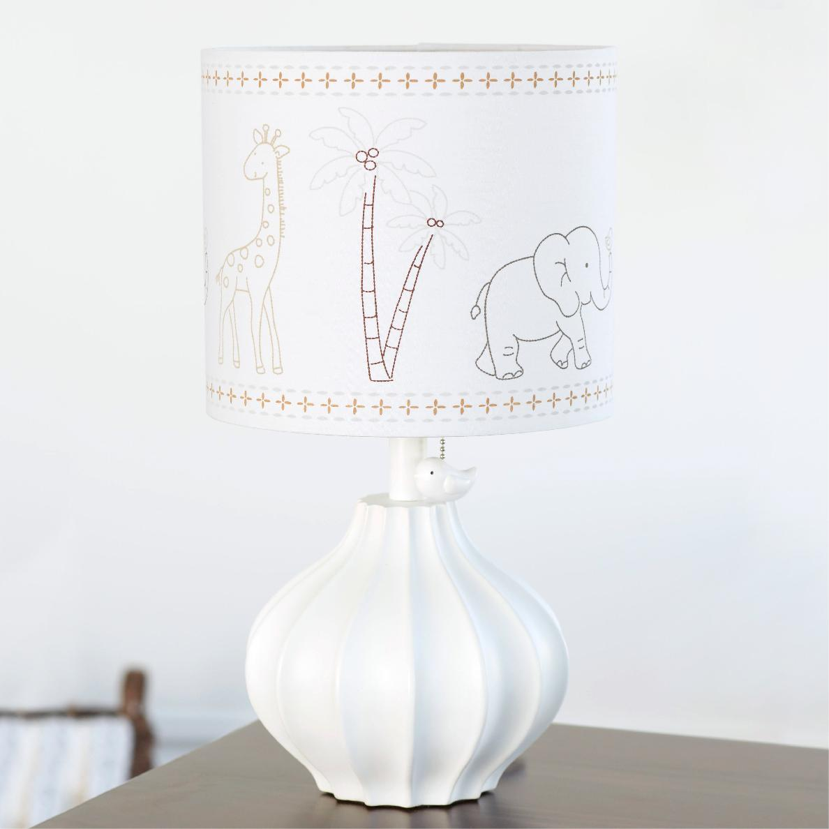 Animal Kingdom Nursery Lamp. View Larger