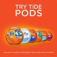 Tide Plus Downy April Fresh Liquid HE Turbo Clean Laundry Detergent; try tide pods