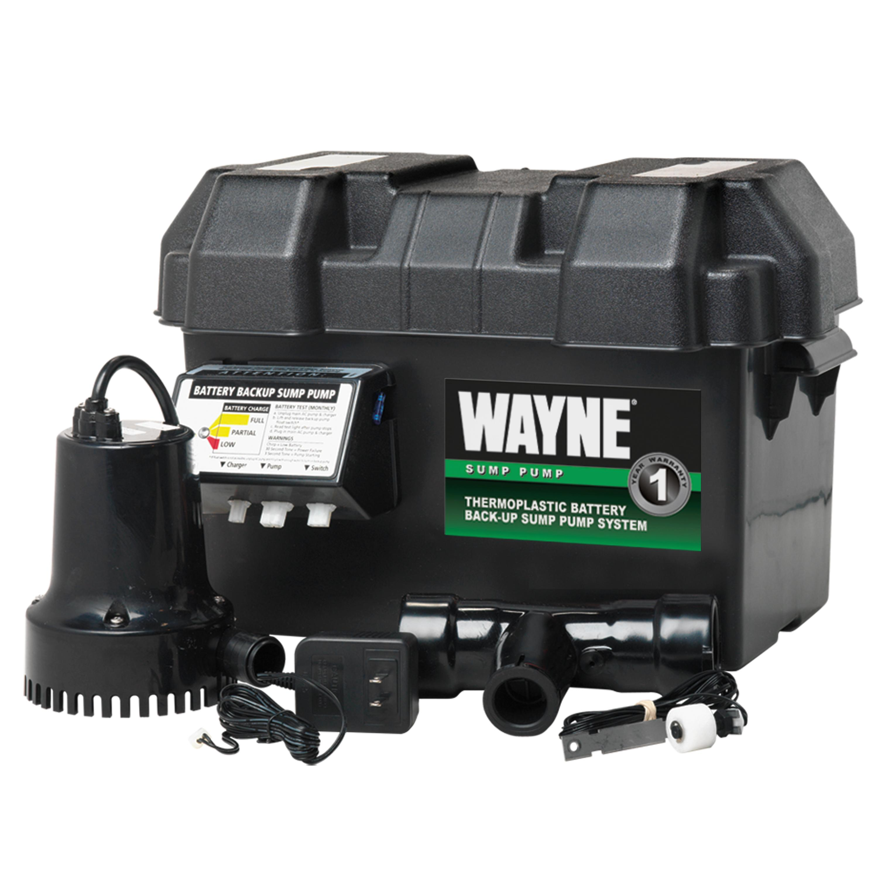 Wayne Esp15 Battery Back Up 12 Volt Sump Pump System Circuit For Backup Standby Operation View Larger