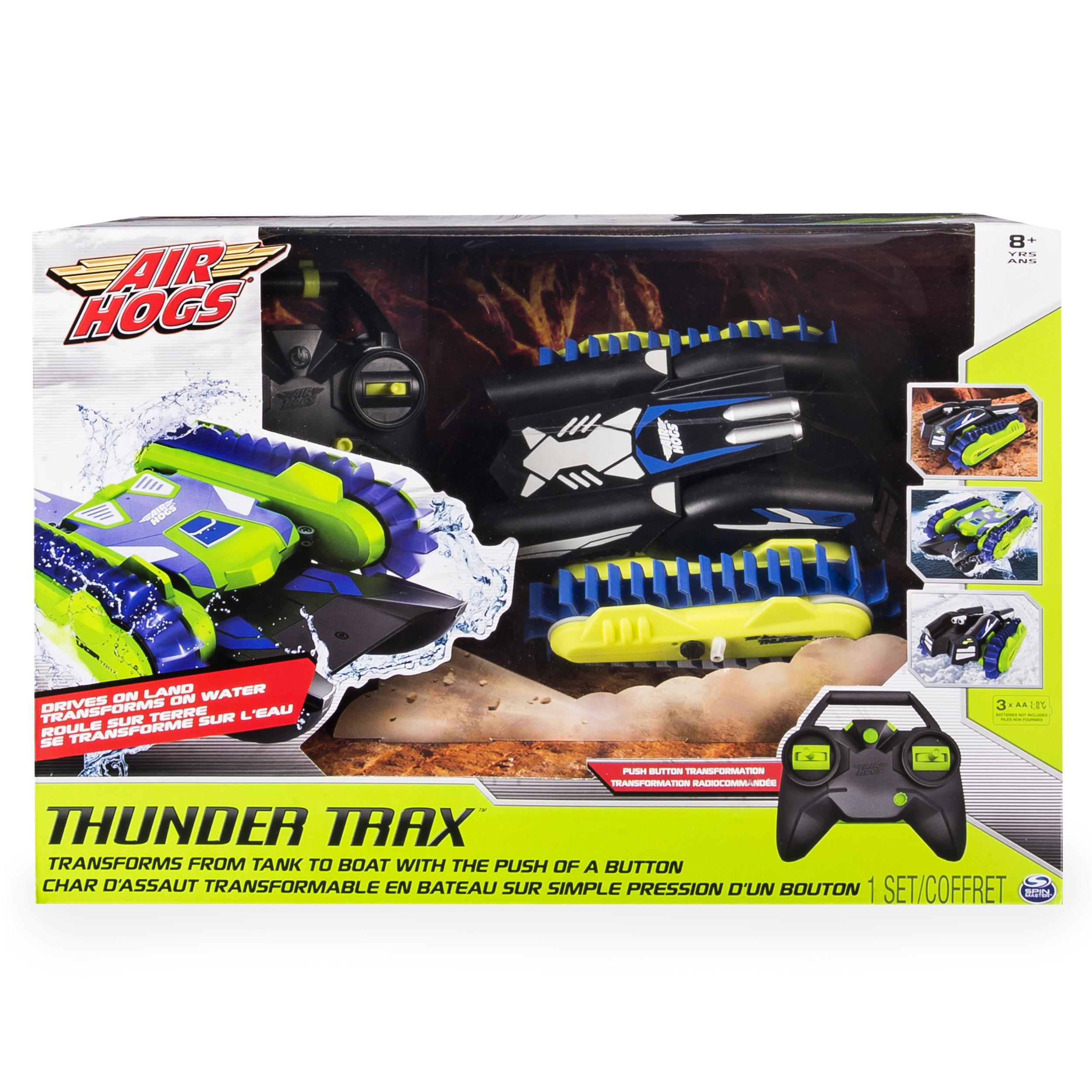 Amazon.com: Air Hogs, Thunder Trax RC Vehicle, 2.4 GHZ ...