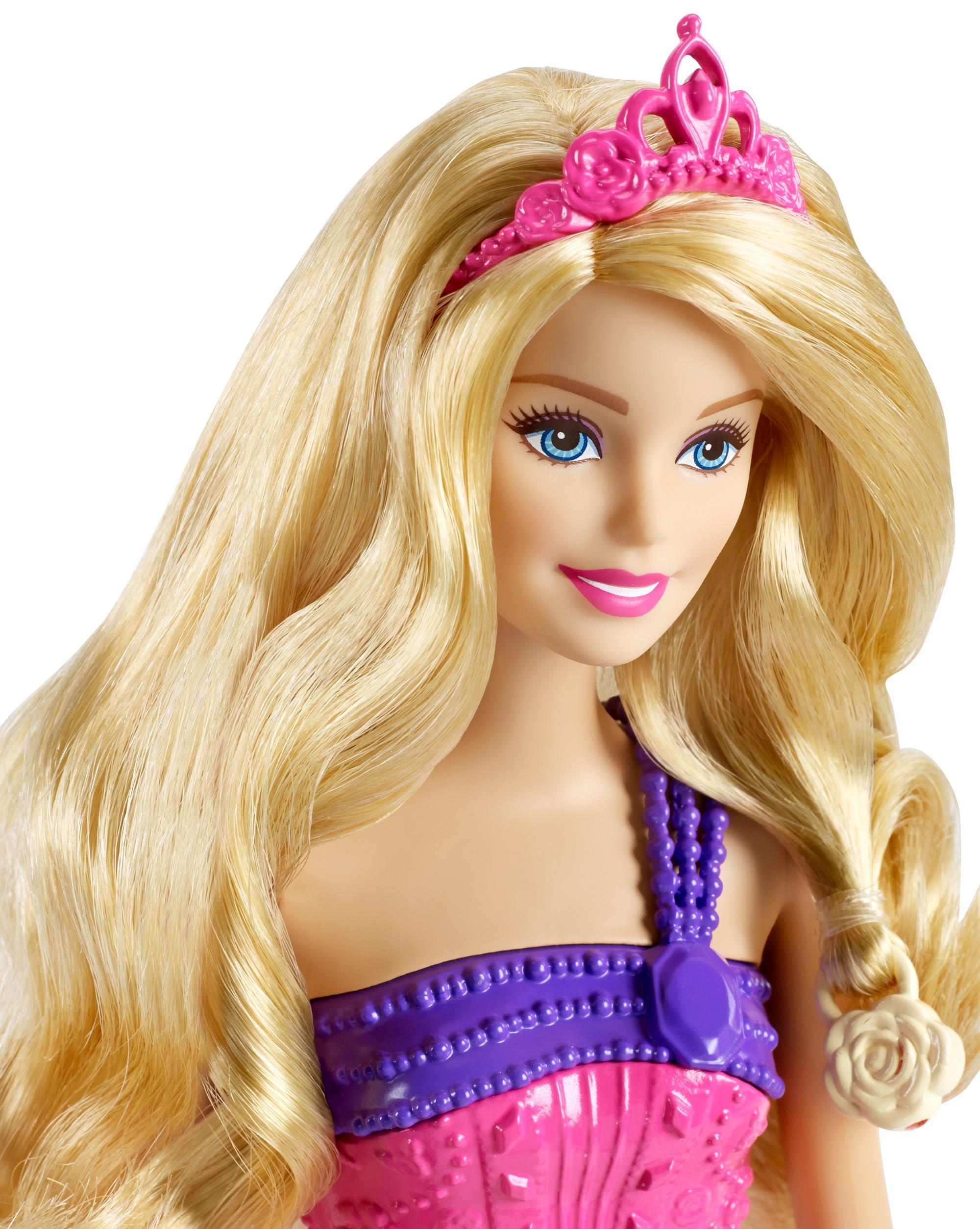 Amazon Com Barbie Endless Hair Kingdom Princess Doll