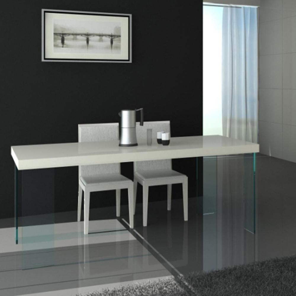 Amazon Argo Furniture Cantun Contemporary Solid Wood White