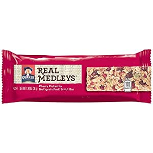 Quaker Real Medleys Bars Cherry Pistachio