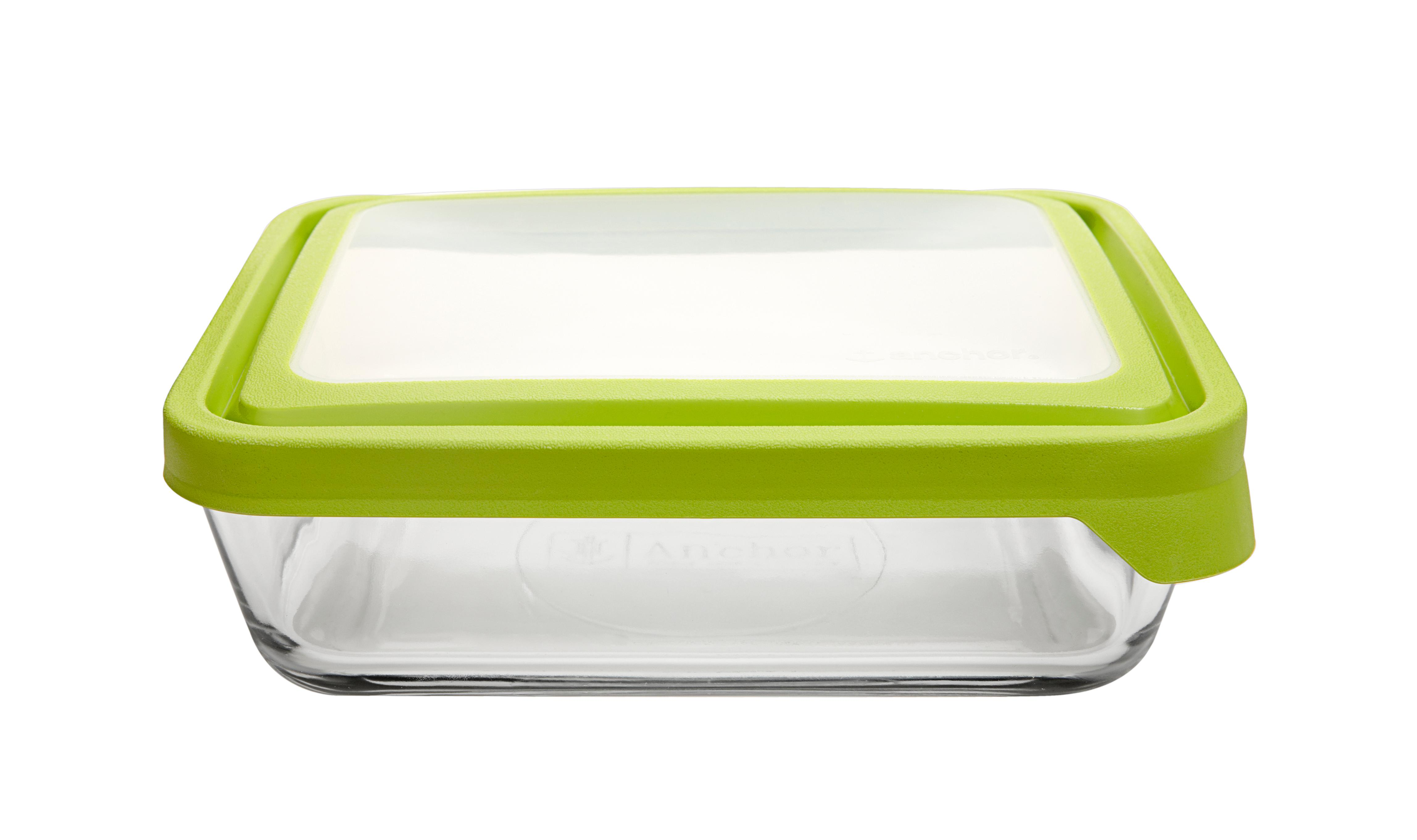 Nice Anchor Hocking; Food Storage; TrueSeal; Glass; Glassware; Rectangle; Glass  Storage