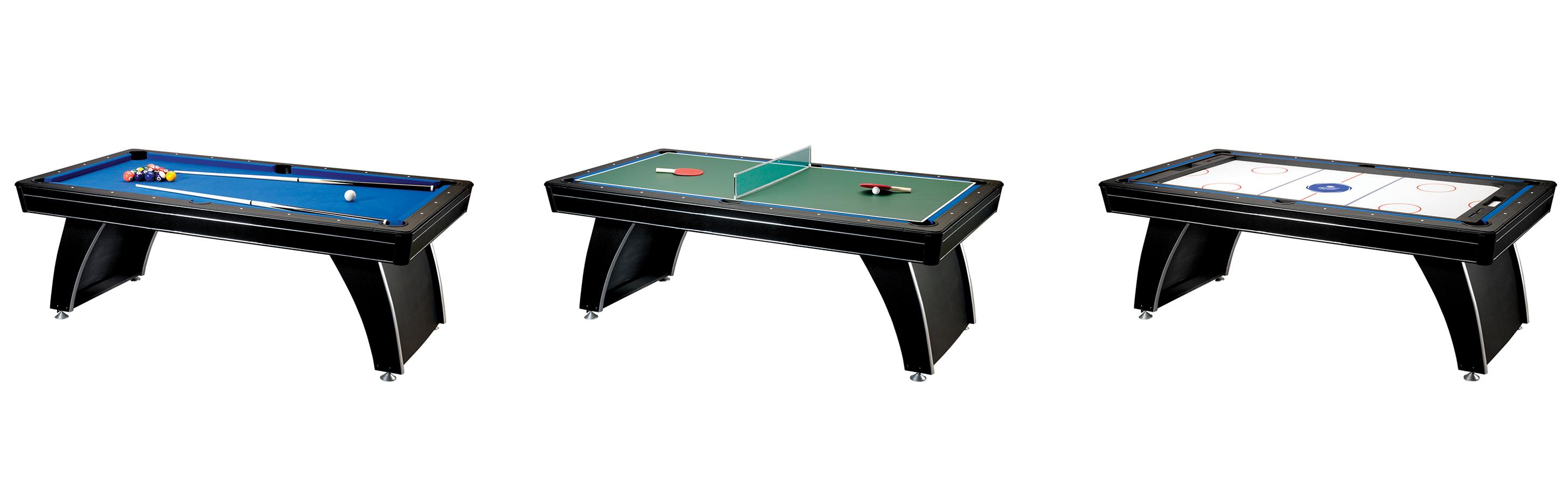 3 in 1 ping pong pool air hockey table - From The Manufacturer