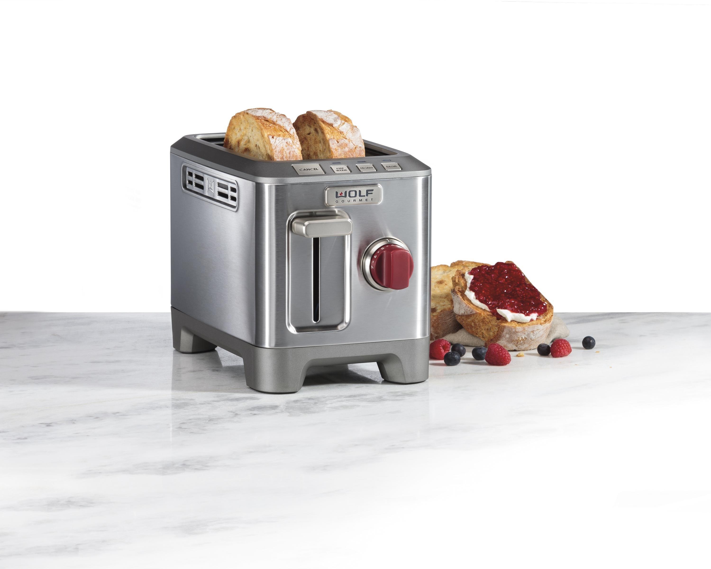 Wolf Gourmet Countertop Oven Amazon : Amazon.com: Wolf Gourmet 2 Slice Toaster (WGTR102S): Kitchen & Dining
