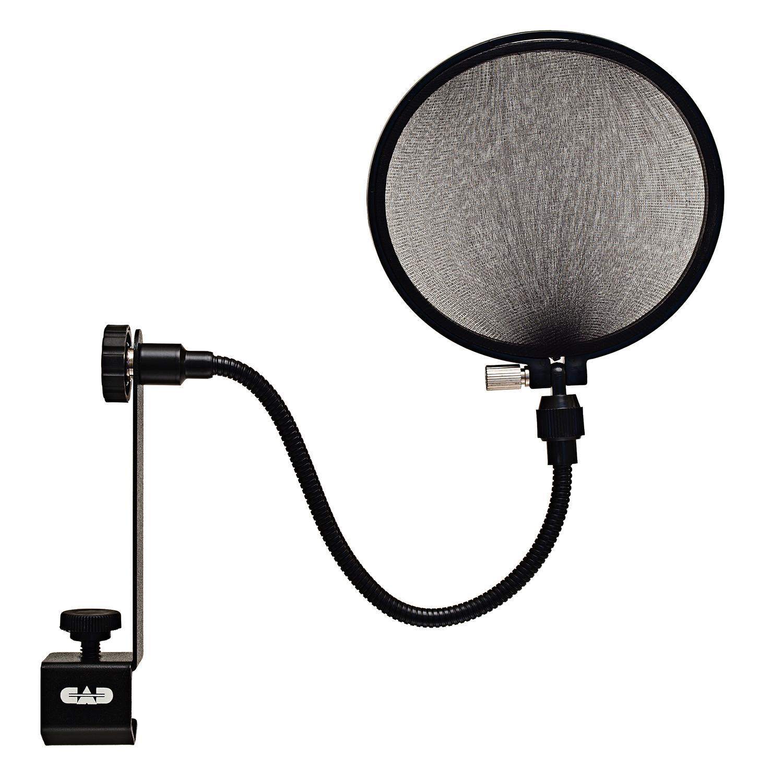 What Is A Pop Filter : cad audio epf 15a pop filter on 6 inch gooseneck musical instruments ~ Hamham.info Haus und Dekorationen
