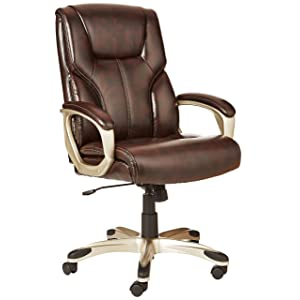 high back executive reclining office chair brown grand finder