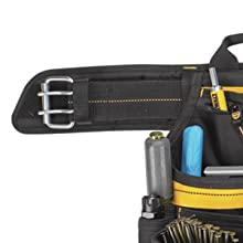 Padded Belt & Double-Tongue Roller Buckle