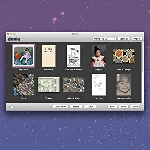 a screenshot of doxie software for mac