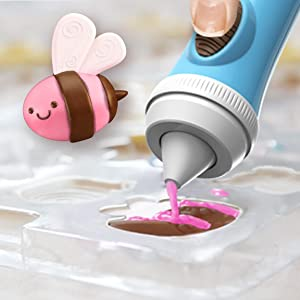Create unique candy treats from detailed molds