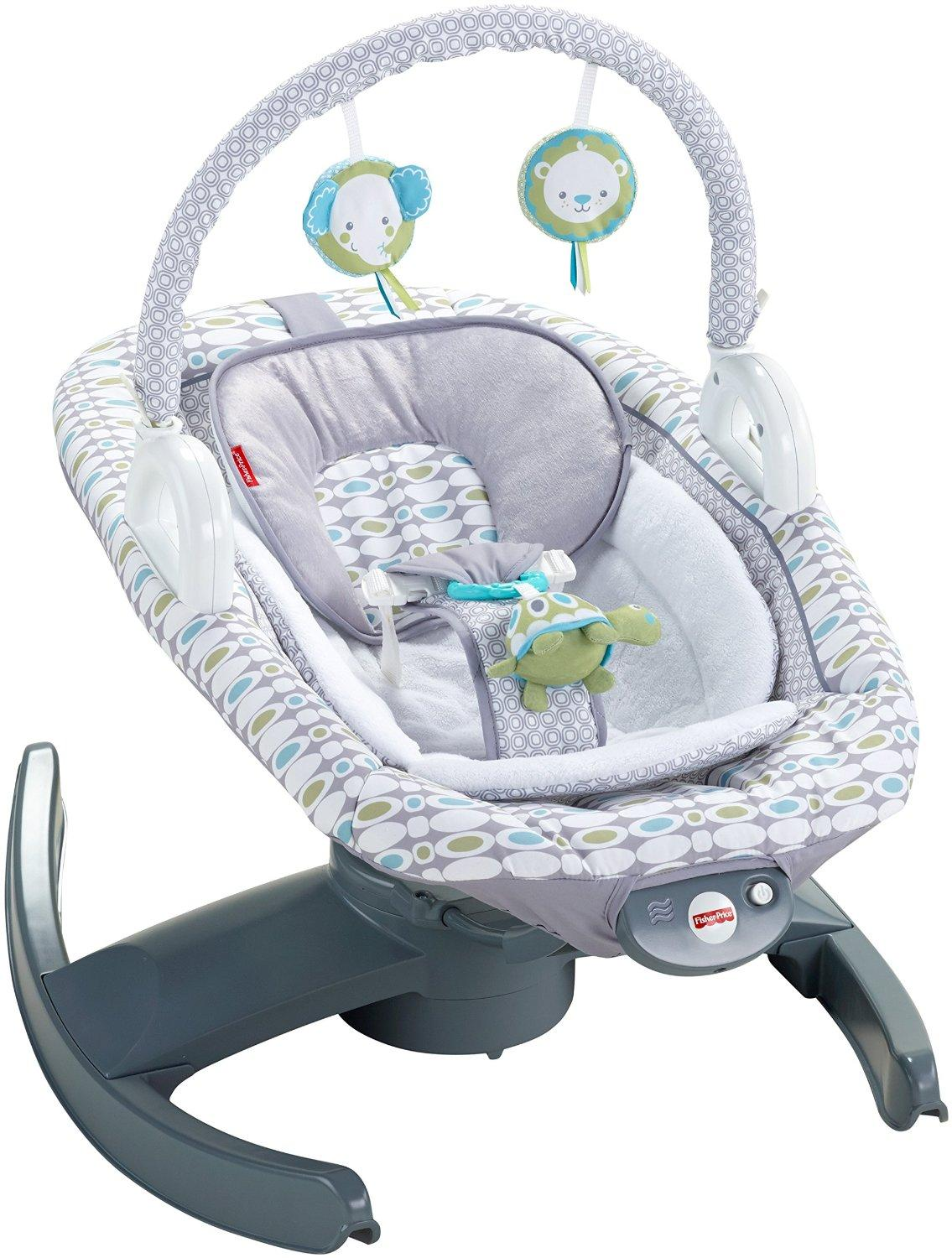 fisher price 4 in 1 rock 39 n glide soother baby. Black Bedroom Furniture Sets. Home Design Ideas