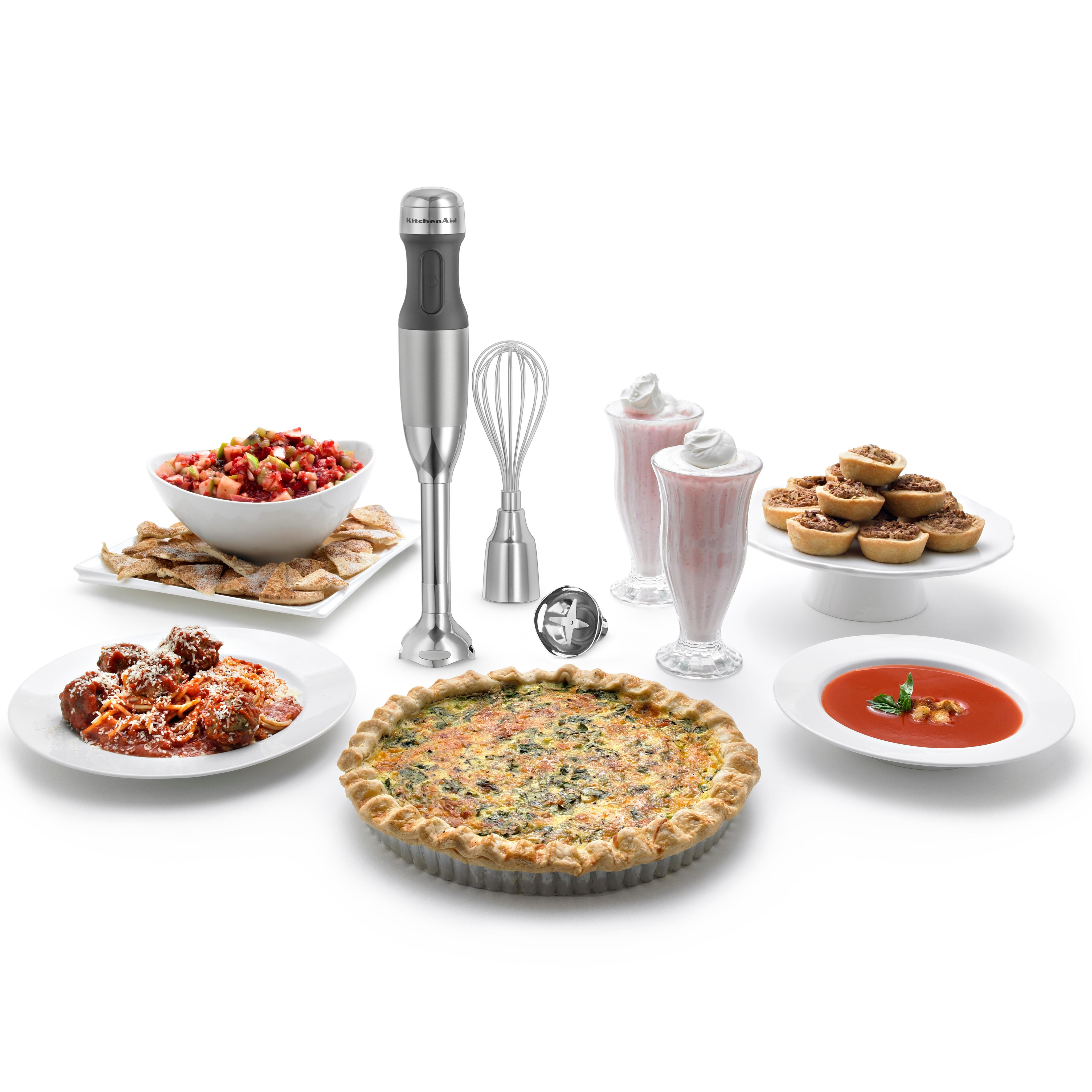 Amazon.com: KitchenAid KHB2352CU 3-Speed Hand Blender - Contour ...