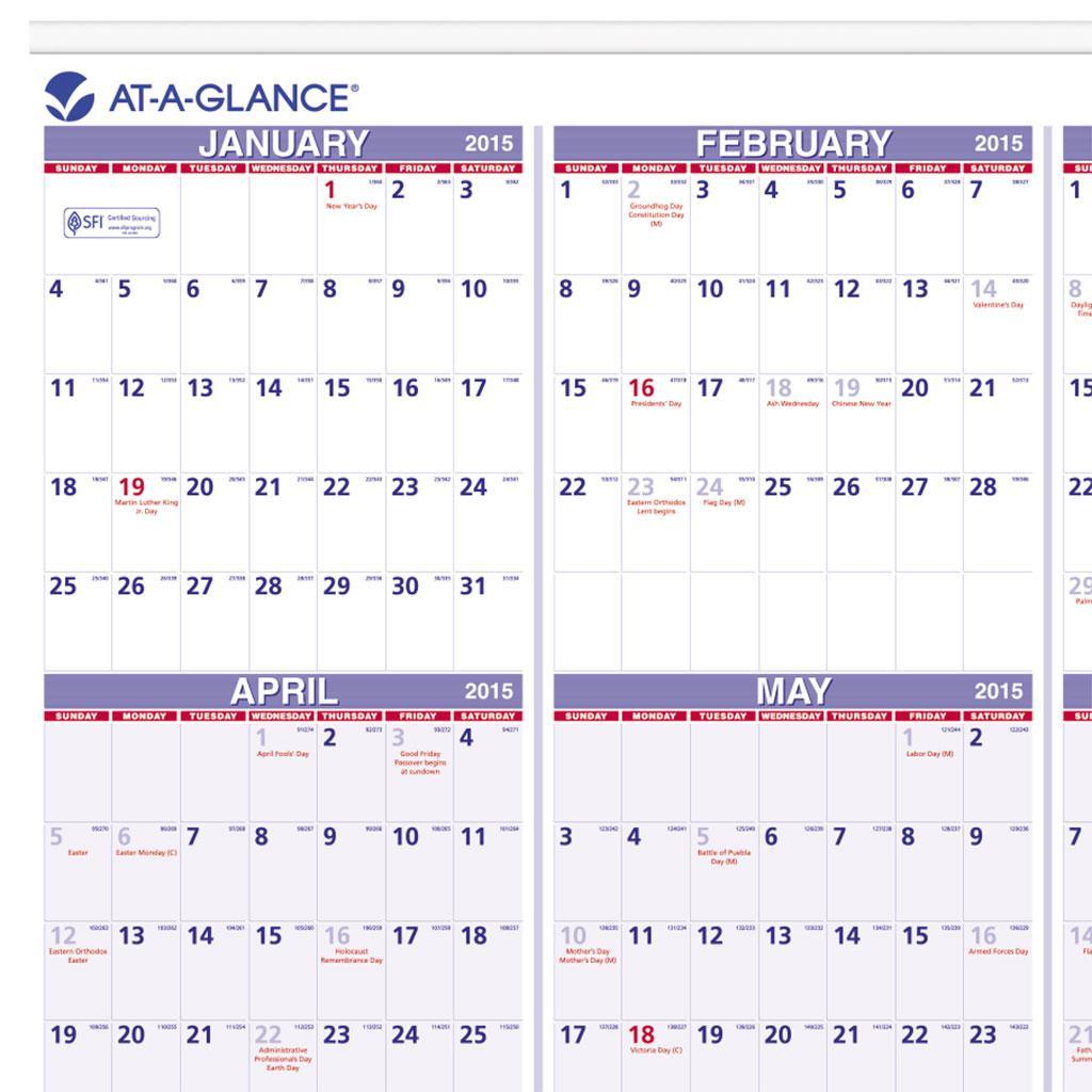 quarter calendar