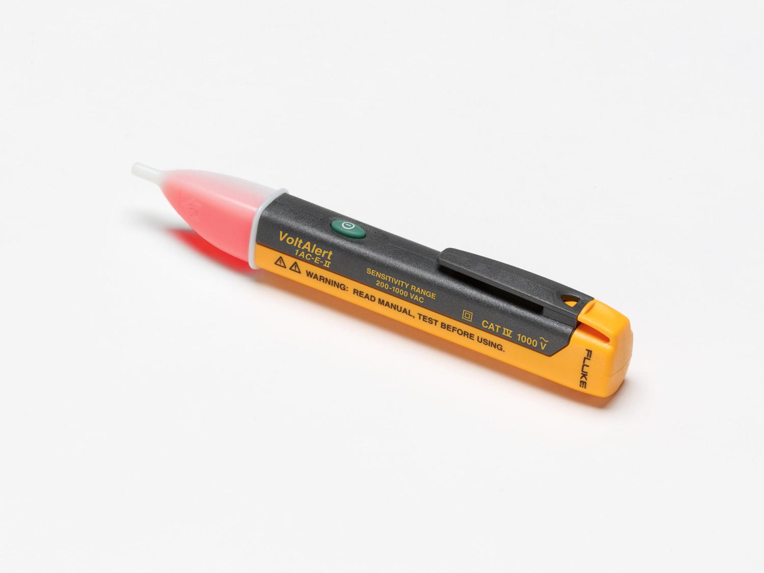 Non Contact Voltage Tester : Fluke ac a ii voltalert non contact voltage tester
