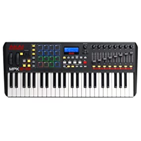 Akai Professional, MPK249, MPC, keyboard controller, performance pad