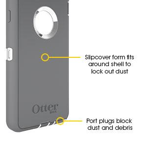 Amazon.com: OtterBox Defender Series for iPhone 6 - Black: Cell ...