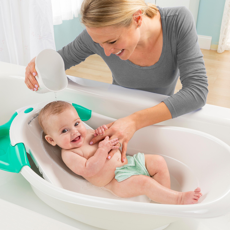 summer infant warming waterfall bath tub baby