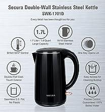 secura kettle details