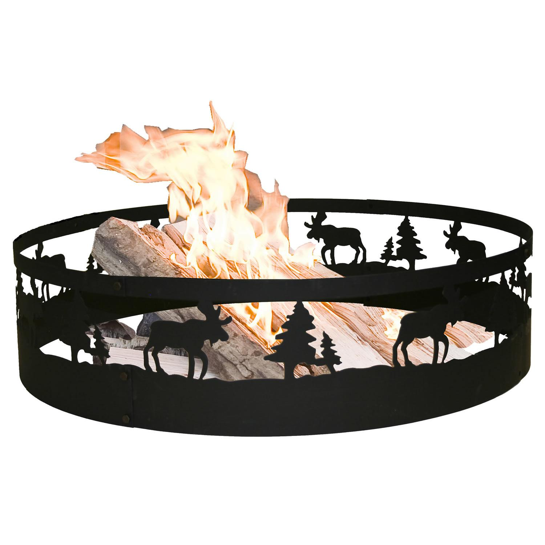 Amazon Com Cobraco Moose Campfire Ring Frmoos369 Fire