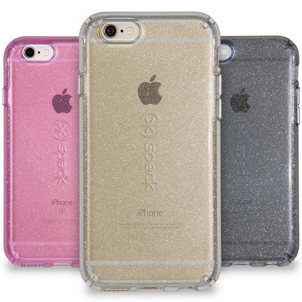 Iphone 6 plus beaming orchid gold glitter cell phones amp accessories