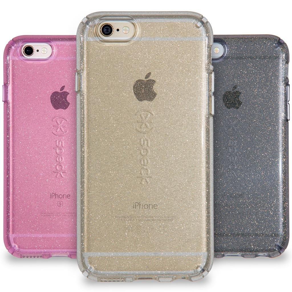 iphone 6 plus grey sparkly case