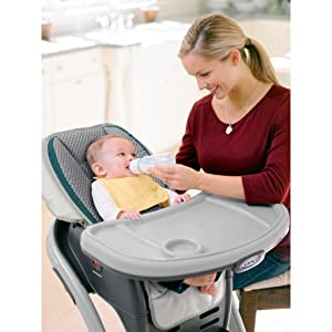 graco blossom 4 in 1 convertible high chair seating