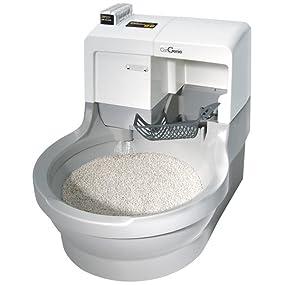 Amazon Com Catgenie Self Washing Self Flushing Cat Box Pet Supplies