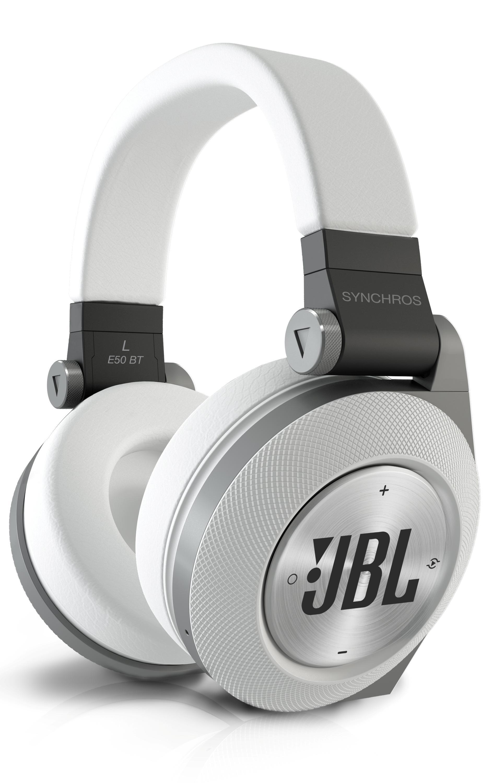 jbl e50bt white premium wireless over ear bluetooth stereo headphone white home. Black Bedroom Furniture Sets. Home Design Ideas