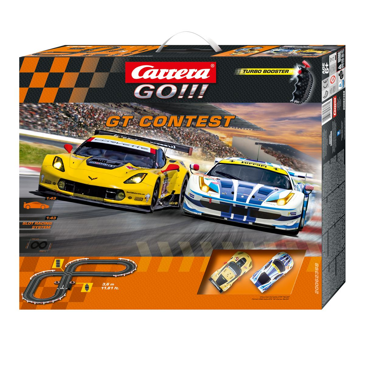 carrera go gt contest slot car race track. Black Bedroom Furniture Sets. Home Design Ideas