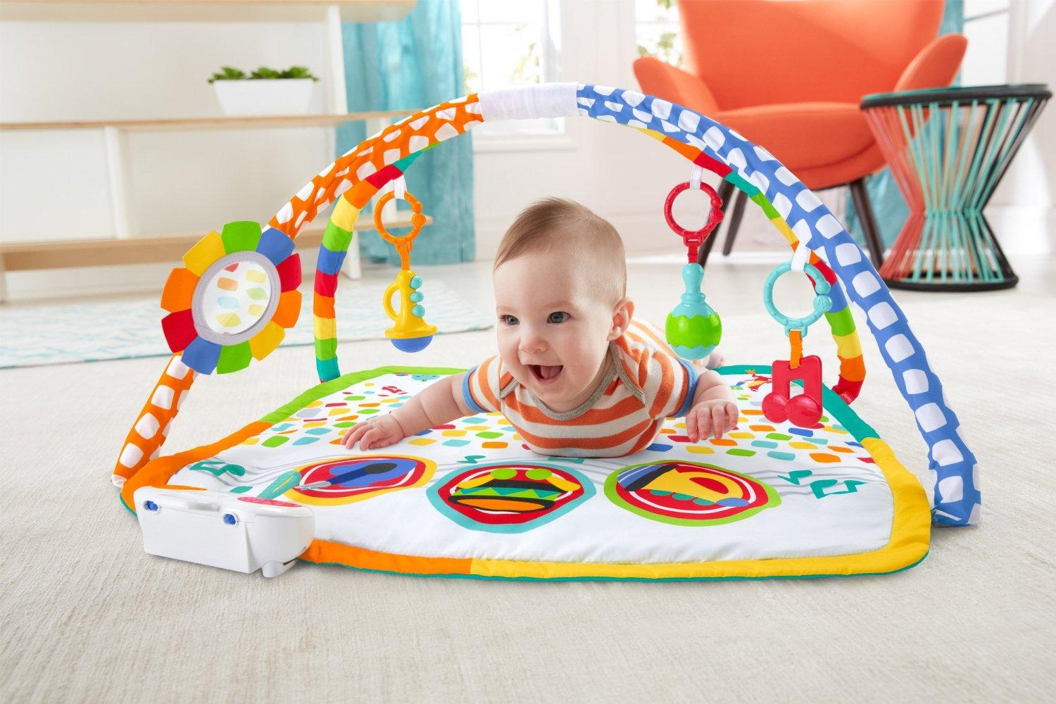 Amazon Com Fisher Price Baby S Bandstand Play Gym Baby