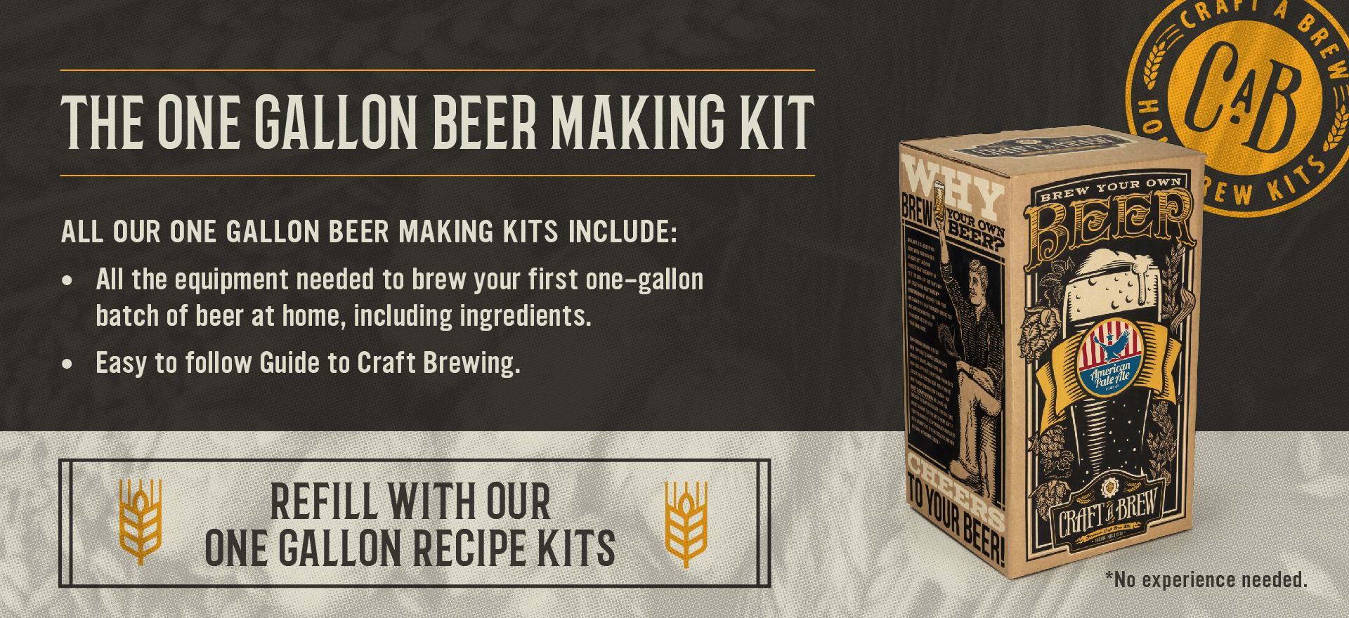 craft a brew brown ale beer brewing kit. Black Bedroom Furniture Sets. Home Design Ideas