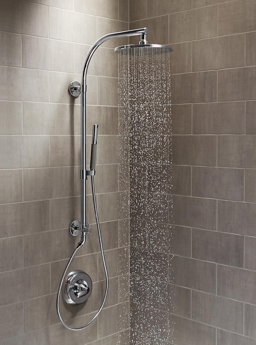 KOHLER K-45209-CP HydroRail -R Shower Column, Polished Chrome ...